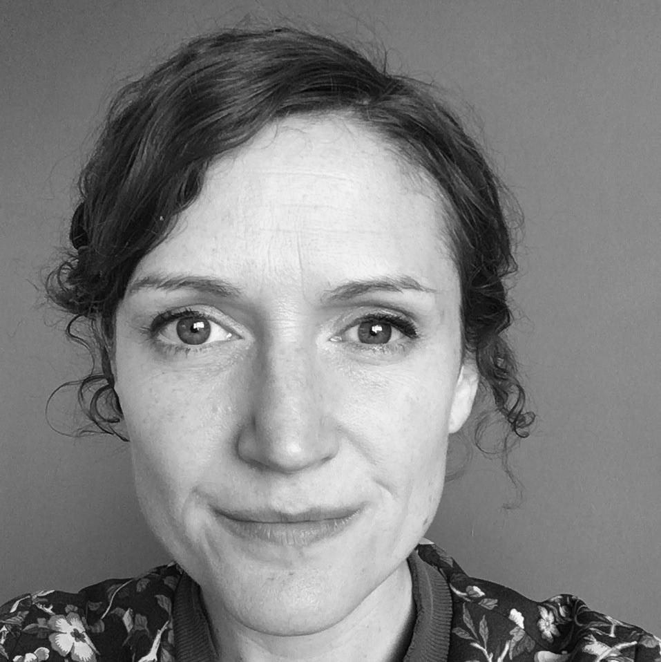 Emily Lloyd headshot black and white